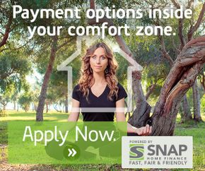 SNAP Financial Pre Approved banner